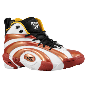 Reebok Shaqnosis - Men's - Black/Nuclear Yellow/Excellent Red/White