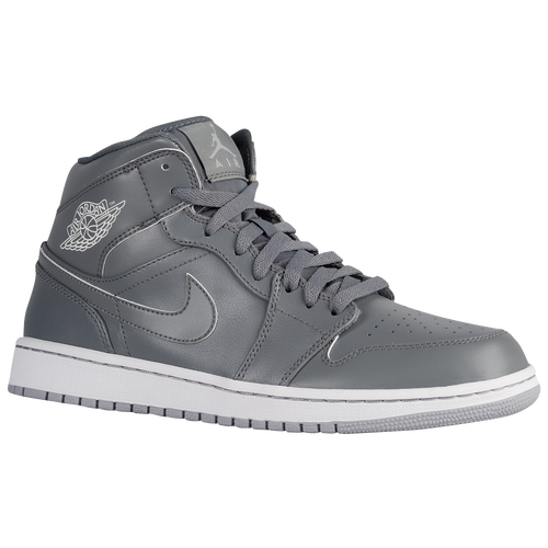 Jordan Aj1 Mid Mens All White af3200a34