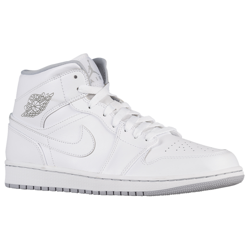Jordan Aj1 Mid Men s All White 012be10ad