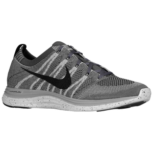 Nike Flyknit Lunar 1 + - Men's - Wolf Grey/Black/White/Dark Grey