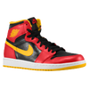 Jordan Retro 1 High OG - Men's - Black / Red