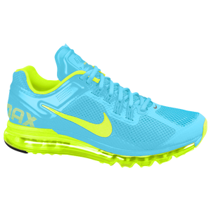 Nike Air Max + 2013 - Women's - Gamma Blue/Volt