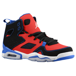 Jordan FLT Club 91 - Boys' Grade School - Sport Red/White/Black/Game Royal