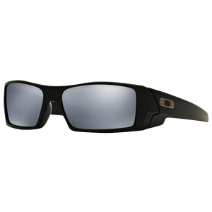 Oakley Gascan Sunglass - Men's - Matte Black/Black Iridium Polarized
