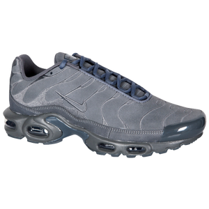 Nike Air Max Plus - Men's - Dark Grey/Dark Grey/Black