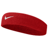 Nike Swoosh Headband - Men's - Red / White
