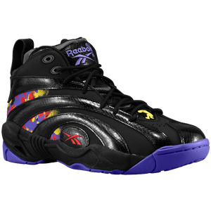 Reebok Shaqnosis - Men's - Black/Purple/Yellow/Red/Grey