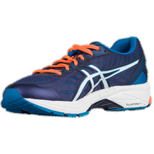 asics gt 1000 5 men 39 s running shoes indigo blue snow hot orange. Black Bedroom Furniture Sets. Home Design Ideas