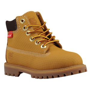 "Timberland 6"" Premium Waterproof Boot - Boys' Toddler - Wheat Rebar"