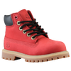 "Timberland 6"" Premium Waterproof Boot - Boys' Toddler - Red / Black"