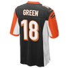 Nike NFL Game Day Jersey - Men's -  Aj Green - Cincinnati Bengals - Black / Orange