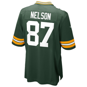 Nike NFL Game Day Jersey - Men's - Nelson, Jordy - Green Bay Packers - Fir