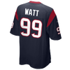 Nike NFL Game Day Jersey - Men's -  Jj Watt - Houston Texans - Navy / White