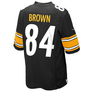 Nike NFL Game Day Jersey - Men's - Brown, Antonio - Pittsburgh Steelers - Black