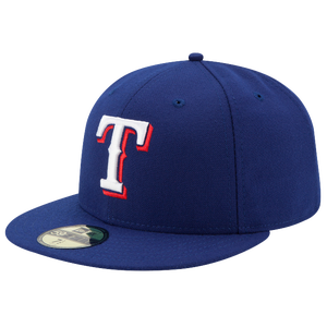 New Era MLB 59Fifty Authentic Cap - Men's - Texas Rangers - Royal