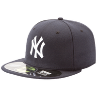 New Era MLB 59Fifty Authentic Cap - Men's - New York Yankees - Navy