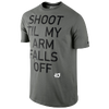 Nike KD Quote T-Shirt - Men's - Grey / Black