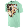 Nike KD Speed T-Shirt - Men's - Light Green / Black