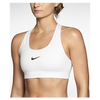 Nike Pro Core Bra - Women's - All White / White