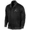 Jordan Varsity Shawl Jacket - Men's - Black / Grey