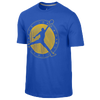 Jordan AJ Flight Club T-Shirt - Men's - Blue / Yellow