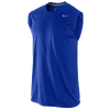 Nike Legend Dri-Fit SLVLS T-Shirt - Men's - Blue / Blue