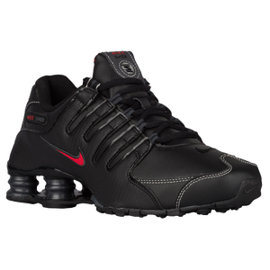 Nike Shox NZ - Men's - Black/Varsity Red/White