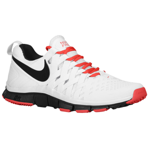 Nike Free Trainer 5.0 - Men's - White/Lt Crimson/Black