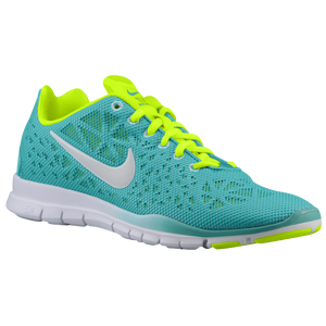 Nike Free TR  Breathe - Women's - Sport Turq/Volt/Ice Blue/White
