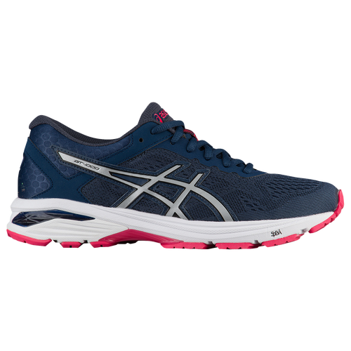 chic ASICS GT1000 6 Womens Running Shoes Insignia Blue Silver Rouge ... 6665f4080e