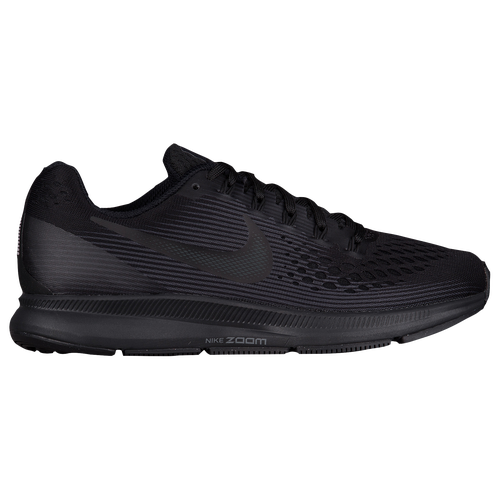 durable modeling Nike Air Zoom Pegasus 34 Womens Running Shoes Black/Dark  Grey/Anthracite