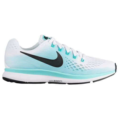 Nike Air Zoom Pegasus 34 Womens Running Shoes White Black Aurora Green  delicate ddf2468fb