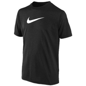 Nike Legend S/S T-Shirt - Boys' Grade School - Black/White