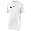 Nike Legend S/S T-Shirt - Boys' Grade School - White / Black