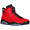 Jordan Retro 6 - Boys' Grade School - Red / Black