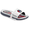 Jordan Hydro 8 Slide - Men's - White / Grey