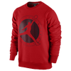Jordan Flight Club Graphic Crew - Men's - Red / Black
