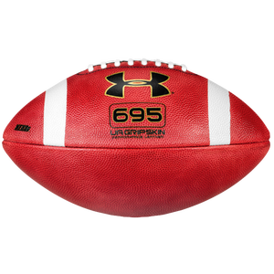 Under Armour 695 Official Size Leather Football - Men's