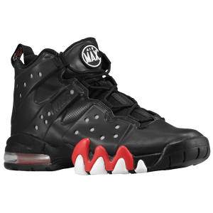 Nike Air Max Barkley - Men's - Barkley, Charles - Black/University Red