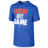 Nike Sweat My Game T-Shirt - Boys' Grade School - Blue / Orange
