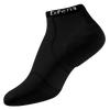 Thorlo Cushioned Heel Micro Mini Running Socks - All Black / Black