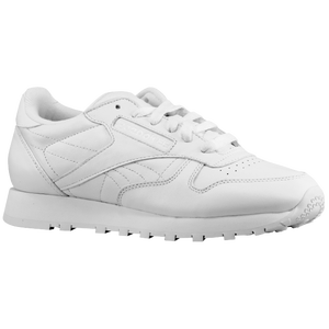 Reebok Classic Leather - Women's - White/White