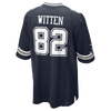 Nike NFL Game Day Jersey - Men's -  Jason Witten - Dallas Cowboys - Navy / White