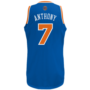 adidas NBA  Revolution 30 Swingman Jersey - Men's - Anthony, Carmelo - New York Knicks - Royal