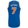 adidas NBA  Revolution 30 Swingman Jersey - Men's -  Carmelo Anthony - New York Knicks - Blue / Orange