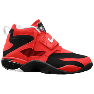 Nike Air Diamond Turf - Men's - Black/Challenge Red/White