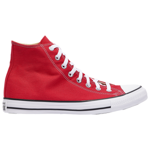 Converse All Star Hi - Men's - Bright Red/White