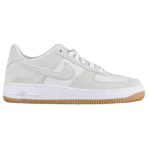 e1c404bd089 durable modeling Nike Air Force 1 Low Boys Grade School Basketball Shoes  Off White Off White Gum Light Brown