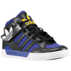 adidas Originals Hard Court Hi Strap - Boys' Preschool - Black / Purple