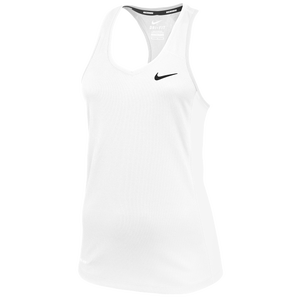 Nike Team Miler Tank II - Women's - White/Black